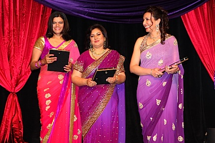 Fundraising Awardees l to r Sujatha Suresh Rita Sharma and Sheetal Singhal